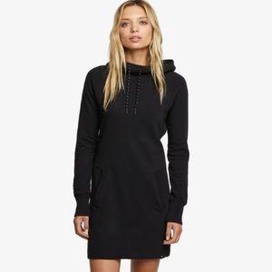 American Giant Hoodie Dress Super Black medium